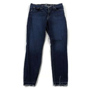 7 For All Mankind Ankle Gwenevere Dark Wash